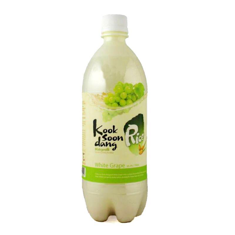 Nước gạo lên men Makgeolli vị nho 750ml, sản phẩm tốt, chất lượng, dễ dàng sử dụng, giá cả hợp...
