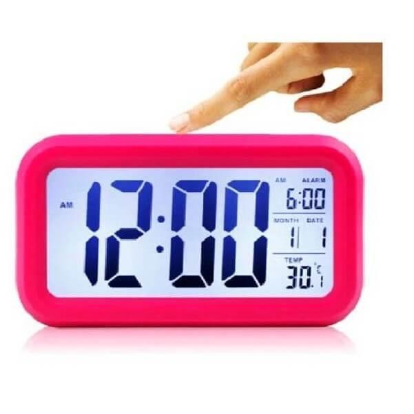 Đồng hồ để bàn led thông minh có báo thức, nhiệt độ, ngày tháng mẫu trang trí đẹp mắt -...