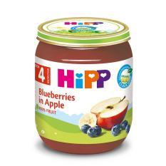 [FREESHIP] Dinh dưỡng đóng lọ HiPP Dâu tím, Táo tây