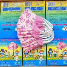 Khẩu Trang Trẻ Em y tế dễ thương 5D FAMAPRO (1 Hộp 10 cái) – khẩu trang y tế kháng khuẩn chống bụi mịn cho trẻ em bé trai gái sơ sinh – 베이비 마스크 – セーフマスクキッズ – nhật bản hàn quốc- n95 3municharm 3d mask kids lily chống virus