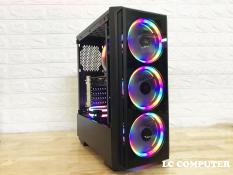 Thùng máy tính Ryzen 5-2600 B450 Ram 8G Nguồn 500W SSD120G Card Rx580 8G BH 3 năm Giá rẻ