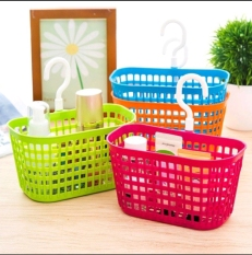 Giỏ nhựa có móc, giỏ treo đồ đa năng Việt Nhật Plastic