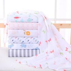 Khăn tắm cho bé 100% Cotton – Họa tiết đáng yêu. Kích thước 105*115cm