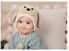 Mũ nỉ tai Cún cho bé từ 8 tháng-3 tuổi