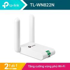 TP-Link USB kết nối Wi-Fi Chuẩn N 300Mbps Độ lợi cao- TL-WN822N- Hãng phân phối chính thức