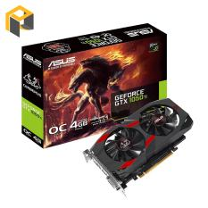 Card màn hình ASUS GeForce GTX 1050Ti 4GB GDDR5 Cerberus OC (CERBERUS-GTX1050TI-O4G)
