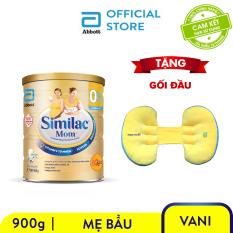 [GIẢM 40 ĐƠN 499K]Lon sữa bột Similac mom 900g Tặng Gối bầu