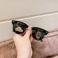 [Video Ảnh Thật-Kính Mát]Mắt Kính Unisex RB Cao Cấp Thiết Kế Nửa Gọng Chống tia UV400,Chống tia cực tím, chống chói lóa hiệu quả bảo vệ mắt tối đa