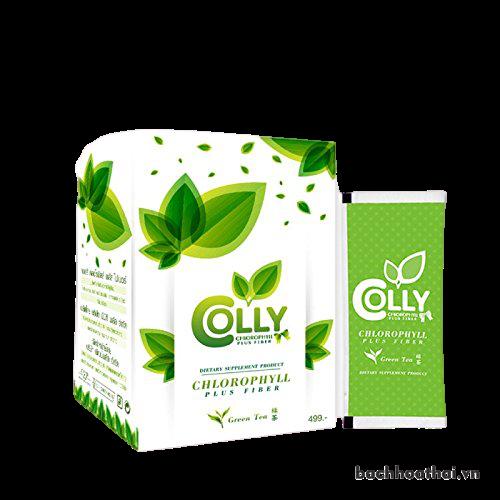[Giữ dáng] Trà xanh ġiảm câņ Colly Chlorophyll Plus Fiber Thái Lan
