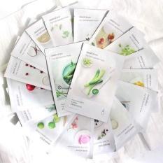 Combo 10 sản phẩm mặt nạ Innisfree dưỡng trắng giảm mụn se khít lõ chân lông cho làn da mịn màng