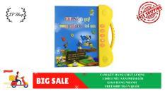 Đồ chơi trí tuệ dành cho trẻ TT34- sách song ngữ- sách nói điện tử song ngữ Anh – Việt cho bé- thay thế các món đồ chơi(thông minh, bảng viết thông minh)-Lapi VN