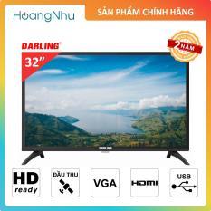 TV LED Darling 32 inch 32HD962-S2 (HD Ready, Tích hợp truyền hình KTS & Vệ Tinh)
