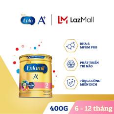 [FREESHIP] Sữa bột Enfamil 2 cho trẻ từ 6-12 tháng tuổi (400g) – Cam kết HSD còn ít nhất 10 tháng