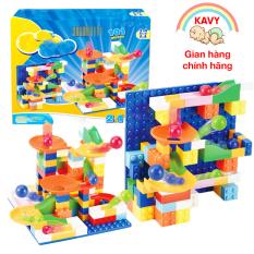 Khối xây dựng lắp ráp đồ chơi bóng lăn cho bé 101 chi tiết, nhiều màu sắc kích thích giác quan, sáng tạo của trẻ – KAVY