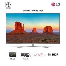 Smart TV LG 49inch 4K Ultra HD – Model 49UK7500PTA (Bạc) – Hãng phân phối chính thức