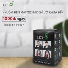 Dầu gội thảo dược Lich5 – Phủ bạc trong 5 phút
