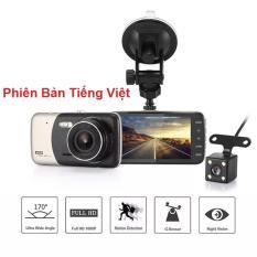 Camera hành trình 4 inch, siêu nét FULL HD 1080. Phiên bản Tiếng Việt