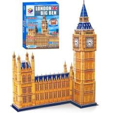 Mô Hình Giấy 3D Magic Puzzle: Tháp Đồng Hồ Big Ben B568-1 (190 Chi Tiết)