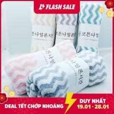 [ KHĂN RẤT MỀM MỊN ] Combo 03 Khăn Tắm 70cm x 30cm sọc hoặc trơn Hàn Quốc Cao Cấp – Giao màu sắc ngẫu nhiên- Bách hoá khăn tắm tốt giá rẻ uy tín.
