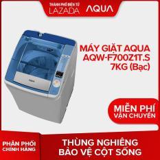 Máy giặt Aqua AQW-F700Z1T.S 7Kg – Hàng phân phối chính hãng