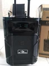 Loa kéo Karaoke Bluetooth Kiomic K108 Bass 25cm, Tặng 1 mic không dây siêu đẹp