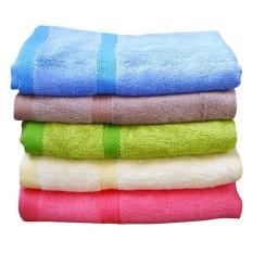 Khăn tắm cotton cao cấp 50*100 (giao màu ngẫu nhiên)