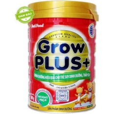 Sữa Grow plus+ nutifood lon 350g