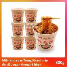 Miến cay Trùng Khánh nội địa TQ siêu ngon thùng 6 hộp (Mẫu mới)