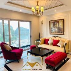Bộ sofa phòng khách Hoàng gia tân Cổ