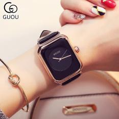 Đồng hồ Nữ GUOU Dây Mềm Mại đeo rất êm tay – Kiểu Dáng Apple Watch 40mm – Chống Nước