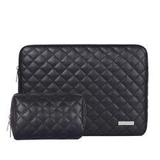 [COMBO ƯU ĐÃI] Combo Túi chống sốc laptop và Túi mini Canvas Artisan – Lux 4 – Da may quả trám