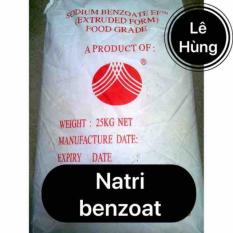 Túi 500g Natri benzoat. Hàng tinh khiết