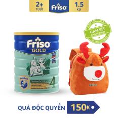 [Freeship toàn quốc] Sữa bột Friso Gold 4 1.5 kg cho trẻ từ 2-4 tuổi + Tặng Balo Tuần lộc Noel cho Bé trị giá 150K – HSD 10/2022