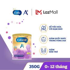 [Dễ tiêu hóa và hấp thụ] Sữa bột Enfamil A+ Gentle Care 1 350g dành cho trẻ 0-12 tháng