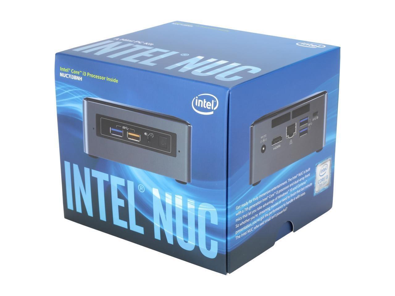 Máy tính để bàn mini PC Intel NUC BOXNUC7I3BNH (Intel Core i3-7100U 2.4 GHz/Intel HD Graphics 620)