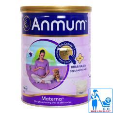 Sữa Bột Anmum Materna Hương Vani Hộp 800g (Ít béo, Cho phụ nữ mang thai và cho con bú)