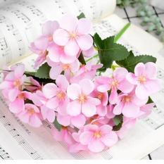 Hoa Giả – Cúc Hoạ Mi 5 cánh – Cành 25 bông – Hoa lụa trang trí cao cấp – HG53