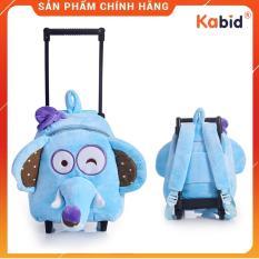 Balo kéo cho bé đi nhà trẻ đi du lịch siêu nhẹ họa tiết thú bông dễ thương ( Cho bé 2-5 tuổi )