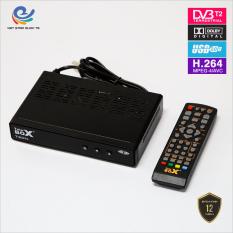 Đầu thu truyền hình mặt đất, đầu thu kỹ thuật số telebox T201 bản nâng cấp DVBT2, đầu thu truyền hình mặt đất Dvb t2, full HD 1080p thu được hơn 80 kênh truyền hình phổ thông, bảo hành 12 tháng, đổi trả mới trong vòng 7 ngày