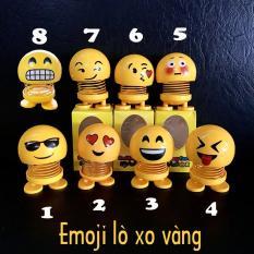 Thú Nhún Emoji con lắc lò xo con nhún