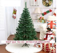 Cây Thông Noel Cao 1m5 – Tặng Kèm Phụ Kiện . Đèn Led Và Dây Kim Tuyến