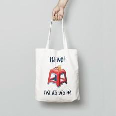 Túi vải TOTE SUNNY thiết kế – ĐỘC QUYỀN