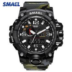 ĐỒNG HỒ THỂ THAO QUÂN ĐỘI SMAEL 1545 + TẶNG HỘP – đồng hồ thủy quân lục chiến SMAEL1545