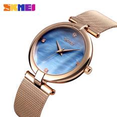 Đồng hồ nữ SKMEI dây thép lưới cao cấp SK109