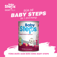 Sữa Dê Baby Steps Số 1 ( Date tháng 11/2021)