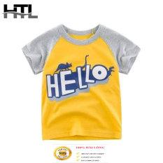(Chính hãng) Áo phông HTL cho bé hot hit mẫu hello