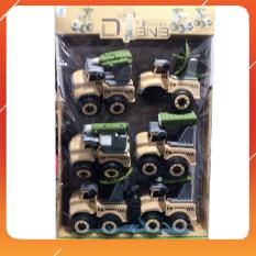 Đồ Chơi Noel – Xe Quân Sự Màu Vàng – Đồ Chơi Trẻ Em Toy Mart