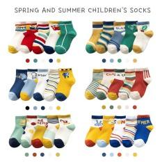 Combo 5 đôi tất vớ màu sắc cho bé, tất lưới cho bé 0-8 tuổi