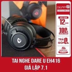 [Ngon bổ rẻ]Tai Nghe Chính hãng Dare U EH416-Giả Lập 7.1 tặng kèm đầu chuyển micro USB dùng cho điện thoại