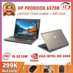 Laptop Chơi Game + Đồ Họa, Laptop Gaming HP 6570b, i5-3210M, VGA Intel HD 4000, Màn 15.6 HD, Phím Số, Vỏ Nhôm, Laptop Gaming